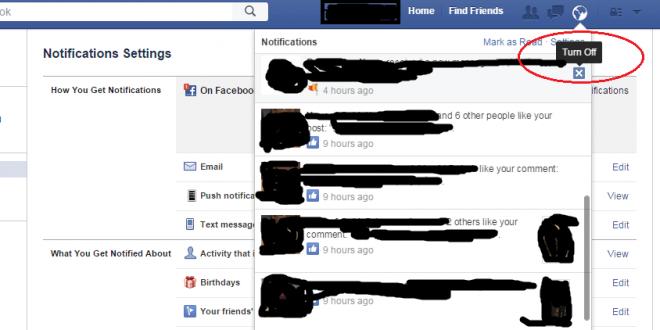 تخلص من تنبيهات الألعاب والتطبيقات على الفيس بوك