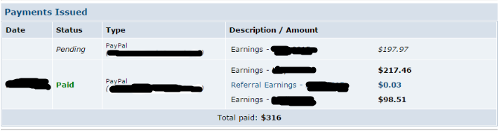 CPM Payment Proof