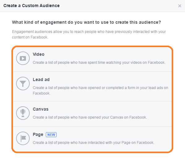 Engagement On Facebook Choices