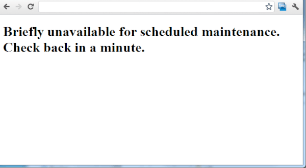 Photo of حل مشكلة Briefly unavailable for scheduled maintenance