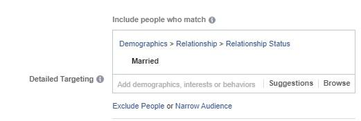 الاستهداف الديموغرافي في فيس بوك